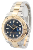 Rolex Oyster Perpetual Yacht-Master - 40mm - Two Tone - Blue Dial - 18k YG Bezel - Ref. 16623