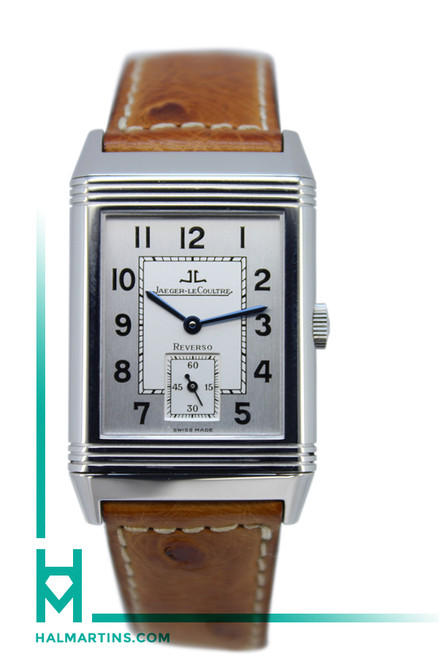 Jaeger-LeCoultre Stainless Steel Reverso Grand Taille - Silver Dial Manual Wind - Ref. 2708410