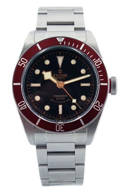 Tudor Heritage Black Bay - Stainless Steel - Red Bezel - Black Dial - 41mm - Ref. 79220R-95740