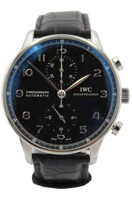 IWC Stainless Steel Portuguese - Chronograph - 40mm - Automatic - Ref. IW371447