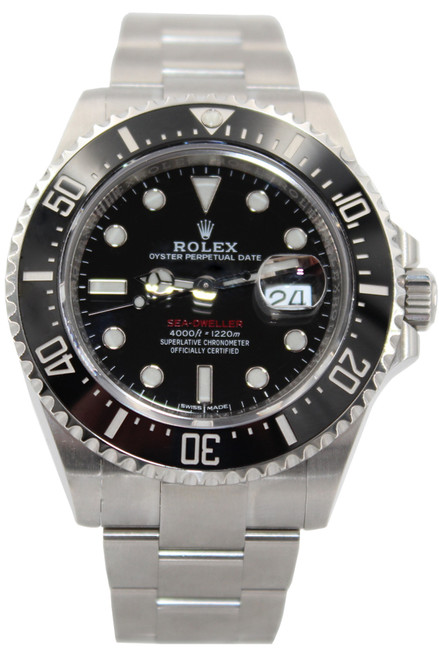 Rolex Stainless Steel Sea-Dweller - 43mm - Black Ceramic Bezel - Ref. 126600