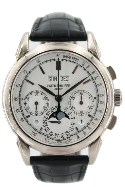 Patek Philippe 18k WG - Grand Complications Perpetual Calendar Moonphase Chronograph - 41mm - Ref. 5270G