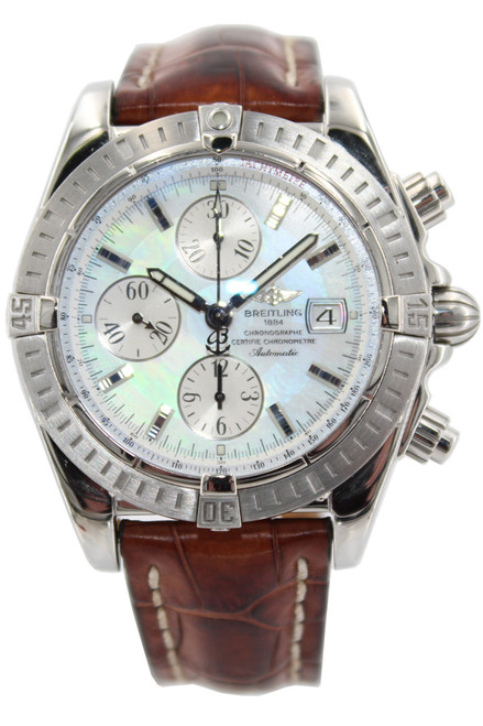 Breitling Stainless Steel Chronomat - 44mm - MOP Dial - Automatic - Ref. A13356