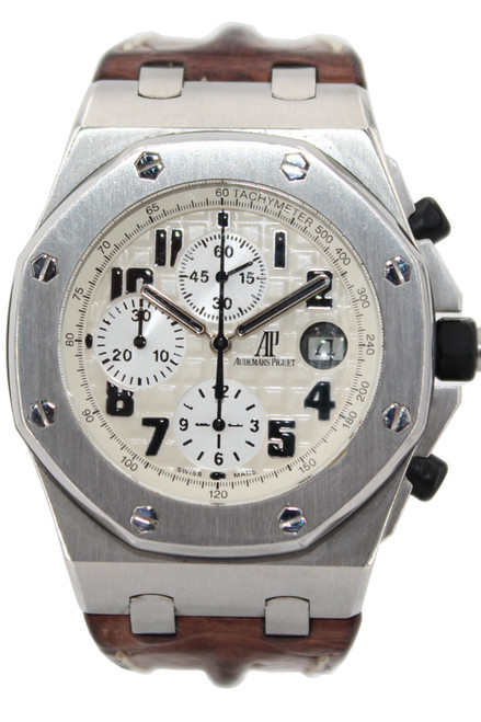 Audemars Piguet Stainless Steel Royal Oak Offshore Safari Chronograph - Automatic -Ref. 26170ST.OO.D091CR.01