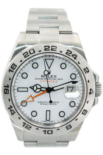 Rolex Oyster Perpetual Explorer II - 42mm - White Dial - Ref. 216570 (Item #12888)