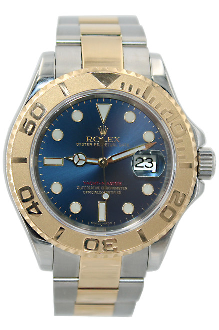 Rolex Oyster Perpetual Yacht-Master - 40mm - Two Tone - Blue Dial - Ref. 16623