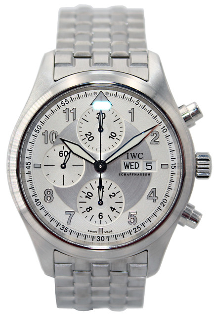 IWC Spitfire - 42mm - Stainless Steel - Chronograph - Automatic - Ref. IW3717-05