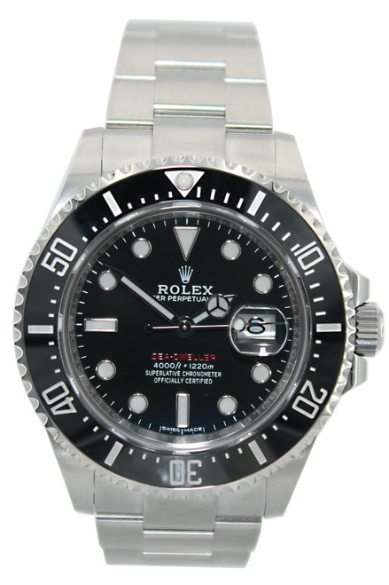 Rolex Oyster Perpetual Sea-Dweller - 43mm - Stainless Steel - Black Ceramic Bezel - Black Dial