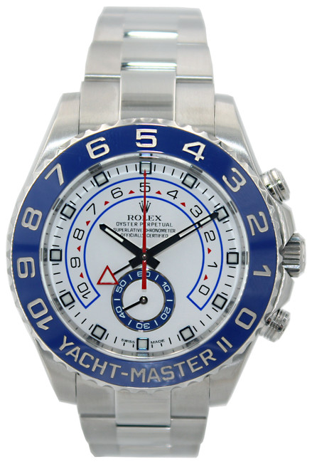 Rolex Oyster Perpetual Yacht-Master II - 44mm - Stainless Steel - Blue Ceramic Bezel - Ref. 116680