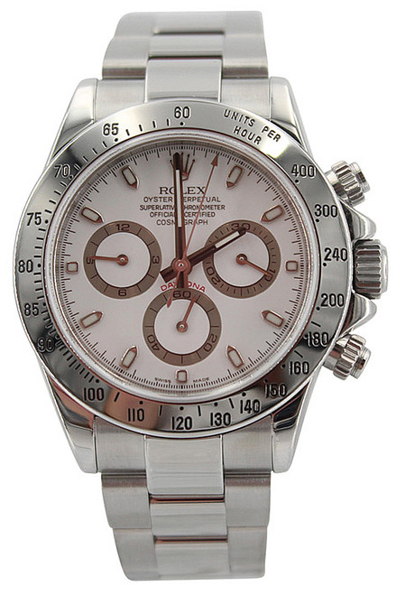 Rolex Oyster Perpetual Cosmograph Daytona-40mm-Stainless Steel-Black Dial-Ref.116250