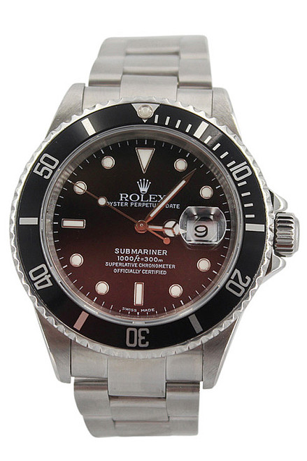 Rolex Oyster Perpetual Submariner Date-40mm-Stainless Steel-Black Dial-Black Bezel-Ref. 116610