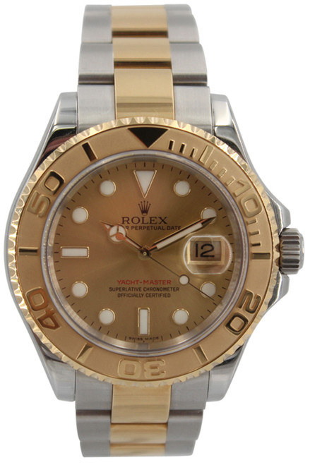 Rolex Oyster Perpetual Yacht-Master - 40mm - Two Tone - Champagne Dial - Ref. 16623