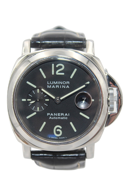 Panerai Luminor Marina - 44mm - Stainless Steel - Black Dial - Automatic - Ref. Pam00104