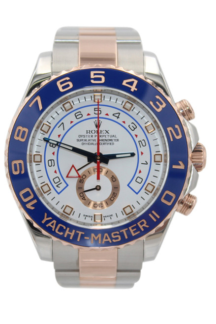Rolex Oyster Perpetual Yacht-Master II - 44mm - Stainless Steel/18k Rose Gold - Ref. 116681