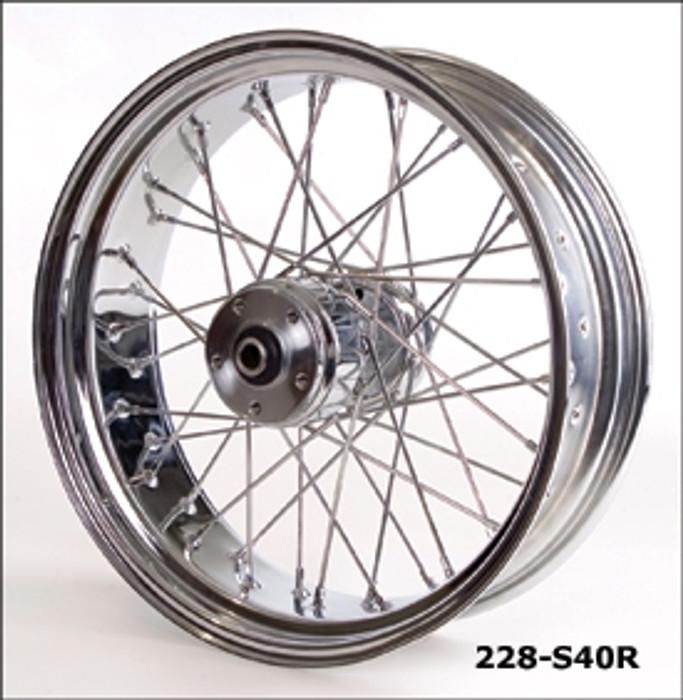40-Spoke Motorcycle Wheels