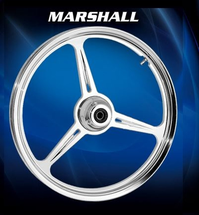 3-Spoke Motorcycle Wheels