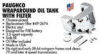 Horseshoe Oil Tank Chrome With Oil Filter Built In  (299.00)
