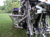 "2007 Art In Motion Rolling Thunder 200 Bagger, ""Purple Haze"""