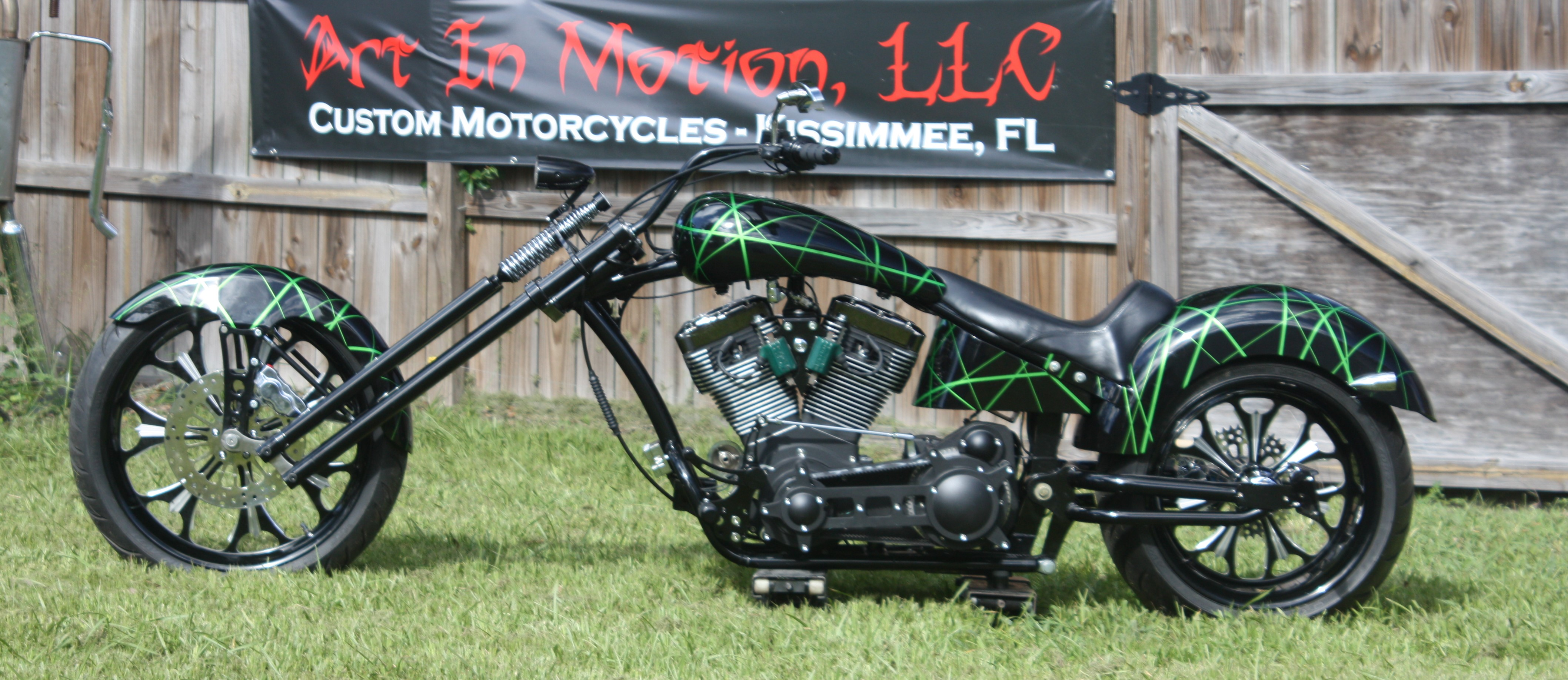 Art In Motion Custom Motorcycles and Trike Parts | Bike In a Box Kits