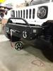Front Low Profile Enclosed Winch Humvee Bumper