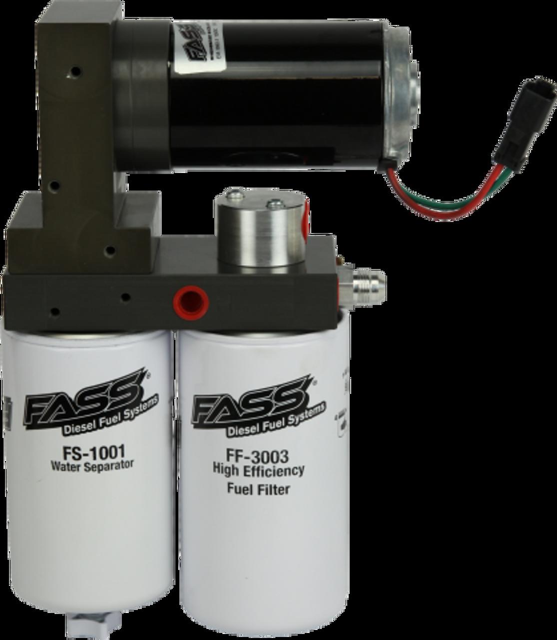 Titanium Series Diesel Fuel Lift Pump 125GPH@45PSI Universal