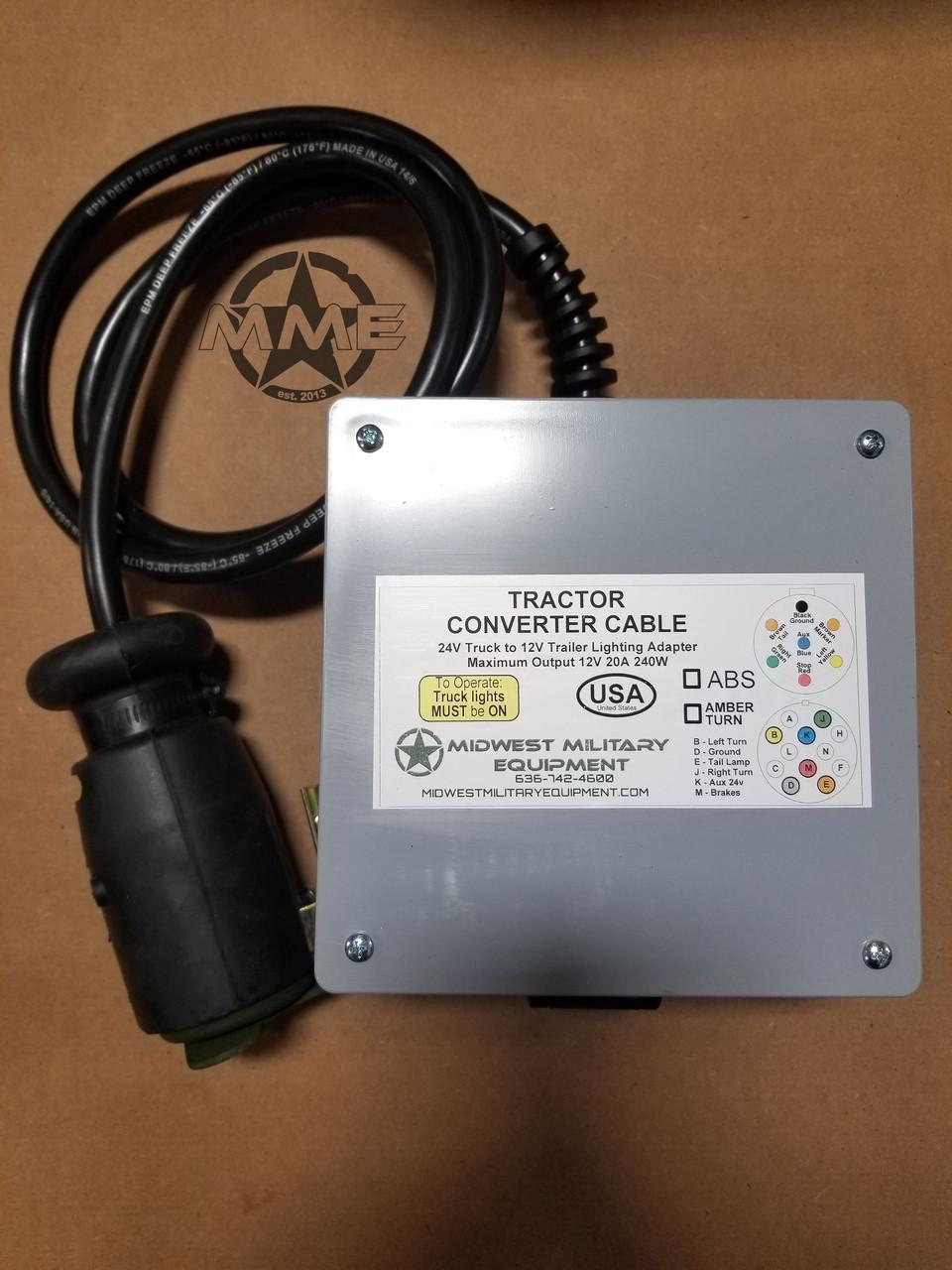 Mulitary Tractor Trailer Wiring Diagram Schematic Diagrams Semi Us 12 24v Wire Center U2022