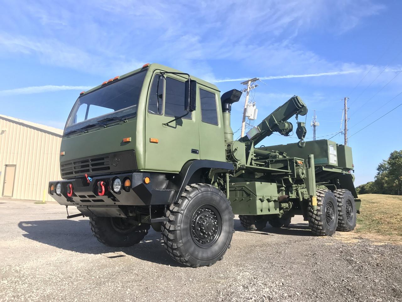 Stewart Amp Stevenson M1089 Military 6x6 Wrecker Truck