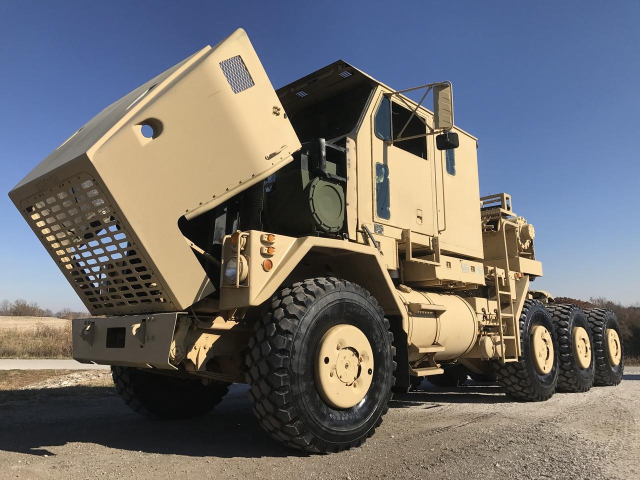 Oshkosh M1070 8x8 HET Military Heavy Haul Tractor Truck SOLD