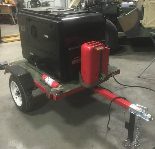 3KW Diesel Trailer Mounted Generator