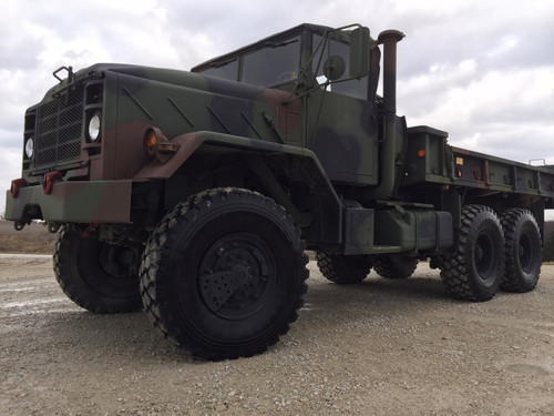 2009 Rebuild BMY M923a2 5 Ton Military Cargo Truck SOLD