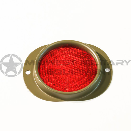 MILITARY RED REFLECTOR