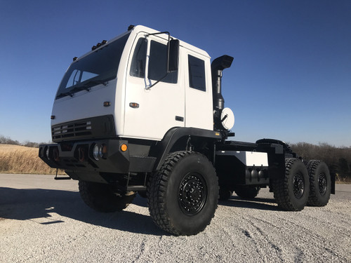 1998 Stewart & Stevenson M1088 5 Ton Military Semi Truck Tractor SOLD