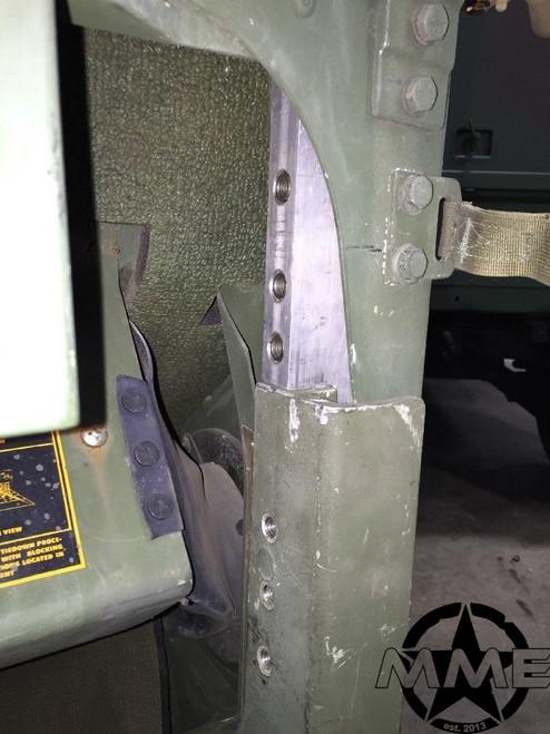 Armor Door Mount Bracket Hmmwv Humvee M1025 M1043 M1114 M1113 M1151 M1165 M998 M998A2