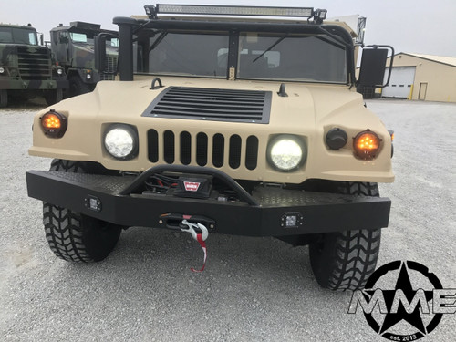 Military Humvee HMMWV M998 M998A1 FRONT Winch BUMPER H1 Hummer