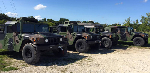 Fleet Of MME Built HMMWV's / Humvee's Ready To Ship Out