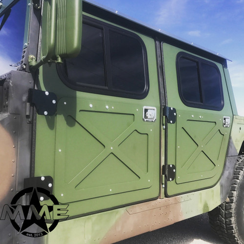 NEW Hummer H1 Military 998 Humvee Hmmwv Aluminum Hard Door Kit (set of 4) ... & 1/8\