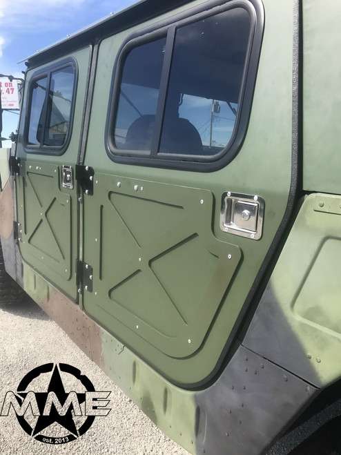 ... NEW Hummer H1 Military 998 Humvee Hmmwv Aluminum Hard Door Kit (set of 4) ... & NEW Hummer H1 Military 998 Humvee Hmmwv Aluminum Hard Door Kit ...