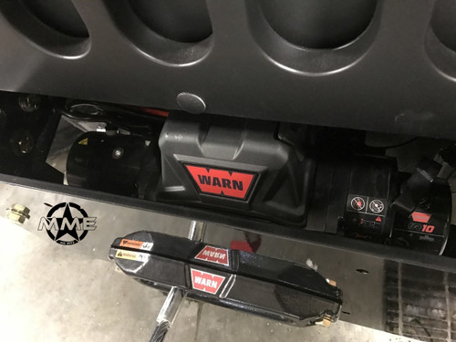 HMMWV Front Winch Mount With Winch