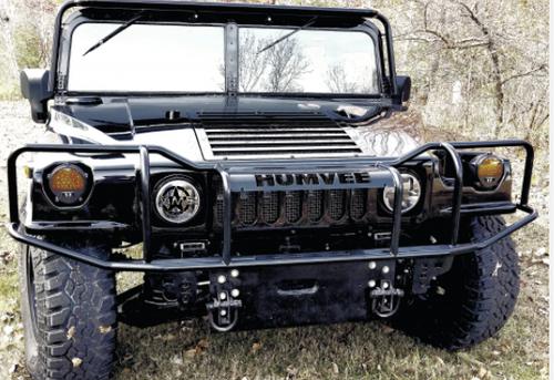 Humvee Brushguard