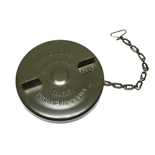 Fuel Cap w/ Chain Jeep and 2.5 Ton
