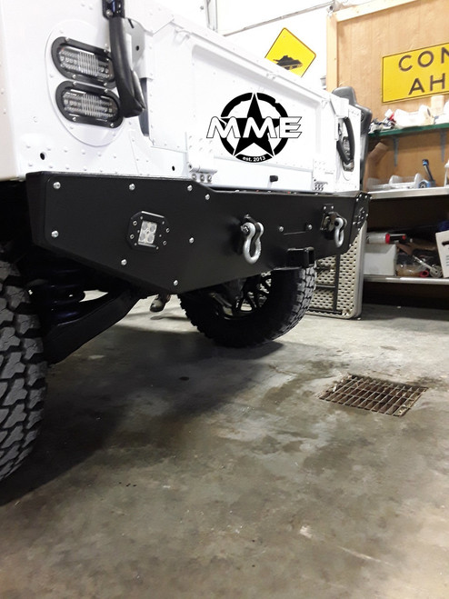 Rear HUMVEE Winch Bumper with LED's