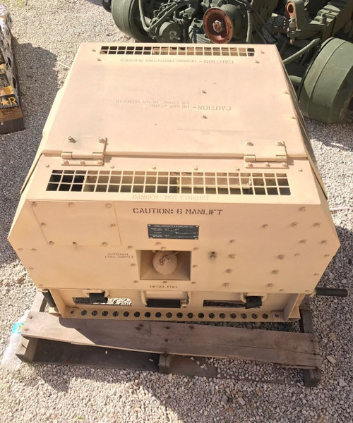 MILITARY MEP-831A DIESEL GENERATOR 3KW 60HZ 2004 TACTICAL QUIET ONLY 5.5 Hours!!