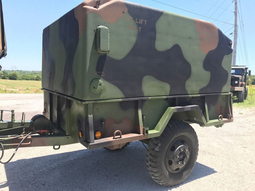 MILITARY CAMPER Cargo Trailer M105A2 HEAVY DUTY 1 1/2