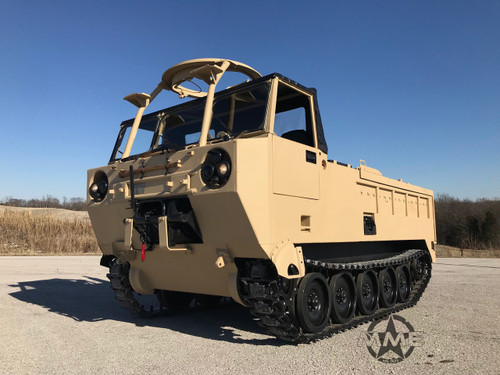 M1015 Electronic Warfare Shelter Carrier Variant of The M548 SOLD