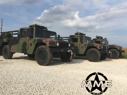 "2 Man 1/4"" Aluminum Roof Kit HMMWV HUMVEE HUMMER H1 military m998"