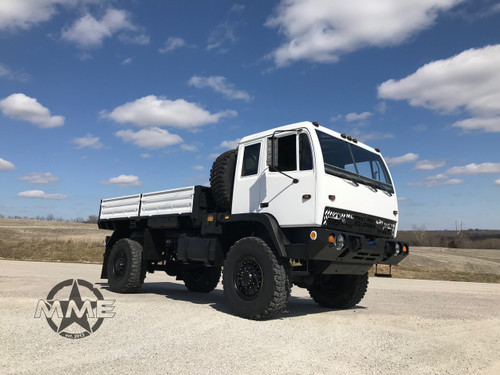 1995 2 1/2 Ton Stewart & Stevenson M1078 4X4 LMTV Dump Truck