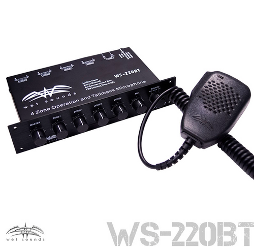 WS-2220 BT 4-Zone Level Controller with Bluetooth