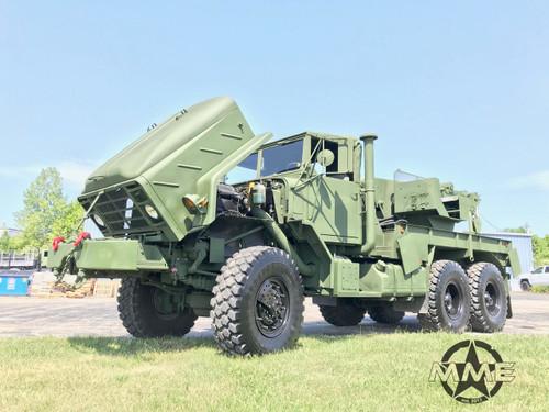2012 M936A2 Military 6x6 wrecker crane truck 45,000lbs winch
