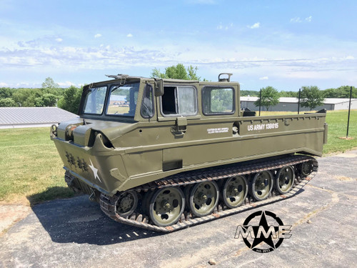 M116  Husky Tracked Amphibious 1 1/2 Ton Cargo Carrier