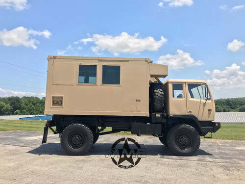 M1079 2 1/2 Ton LMTV Stewart & Stevenson 4x4 Camper Truck.